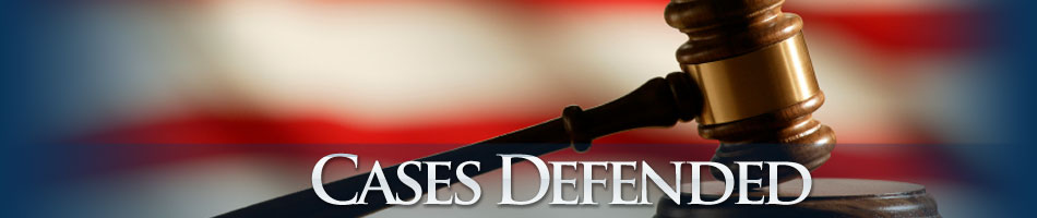 Cases Defended