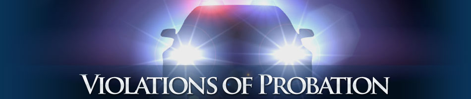 Violations of Probation